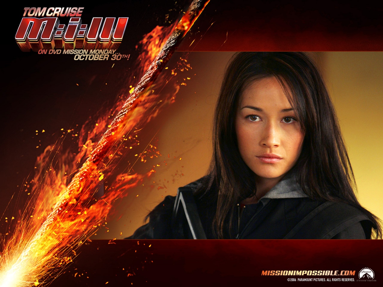 Maggie Q Mission Impossible