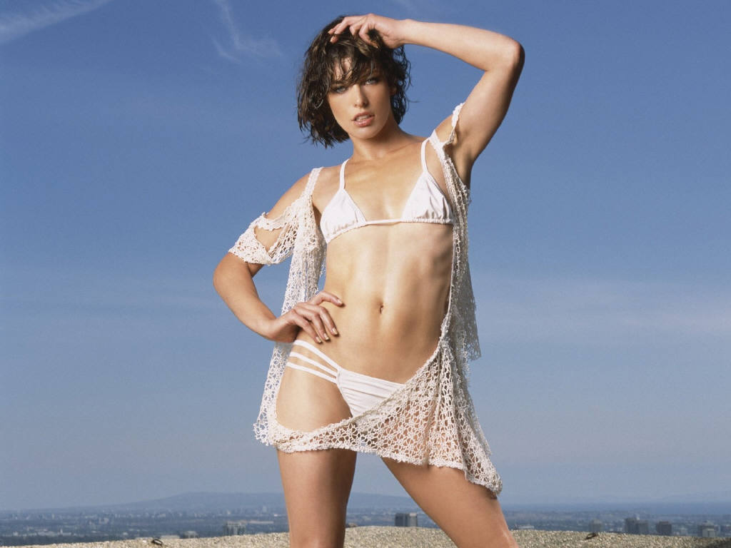 Milla Jovovich wallpap...